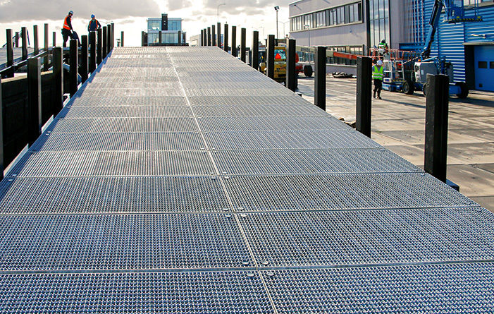 Gratings for Borssele 1 & 2 wind farm